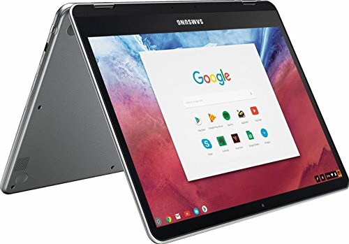 Samsung 12.3'' 2-in-1 Convertible 2400 x 1600 WLED Touchscreen Chromebook Plus - OP1 Hexa-core 2.0GHz, 4GB RAM, 32GB eMMC, Bluetooth, Webcam, 10hr Battery Life, Chrome OS- Pen included by Samsung Chromebook