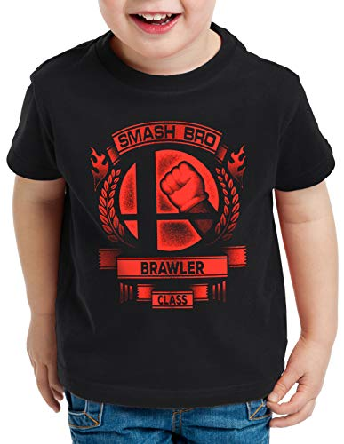 Switch Brawler Camiseta para ni Hormiga Black Brothers Smash Super Ultimate os zSaqdwWdnZ