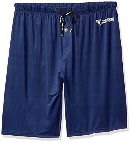 STACY ADAMS Tall Men's Big Sleep Short, Navy, 2XL