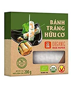 Amazon.com : Spring Roll Rice Paper Wrappers, 22
