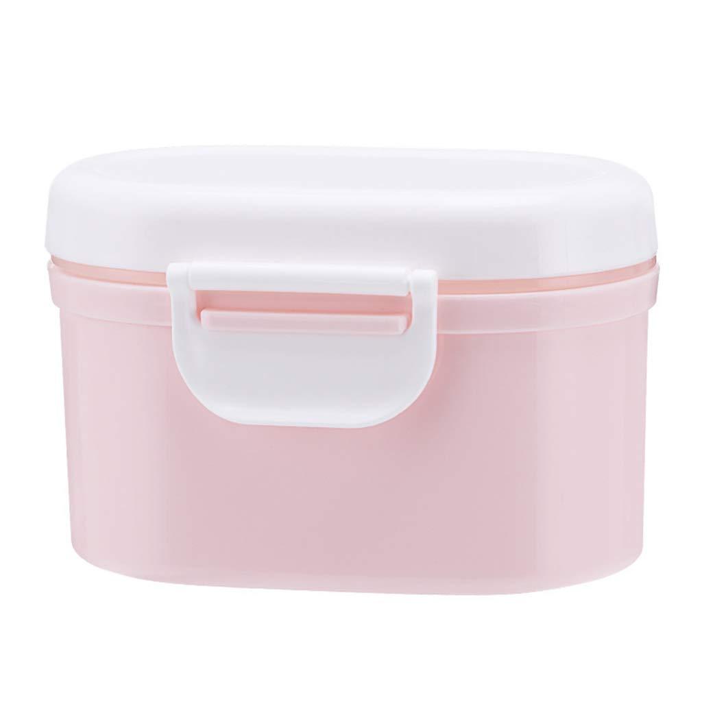 sans BPA Rose, L: 5,24 x 5,63 in Manyo Bo/îte Doseuse Lait Poudre Grande Contenance Distributeur de Lait en Poudre