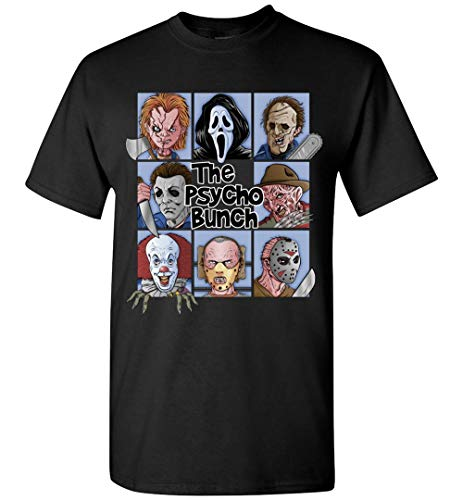 TSHIRTAMAZING The Psycho Bunch Halloween T-Shirt Adult and Youth Size -