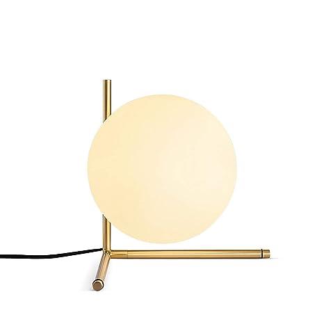 Amazon.com: BOKT Mid Century Lámpara de mesa moderna de ...