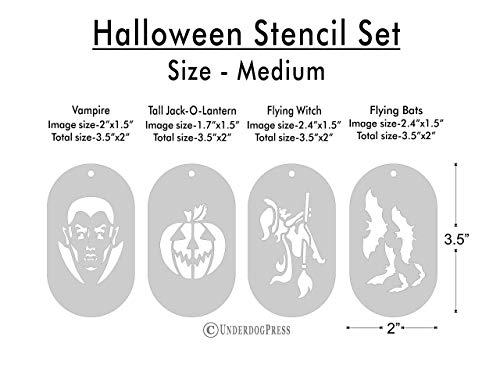 Stencils - Halloween Set of 4