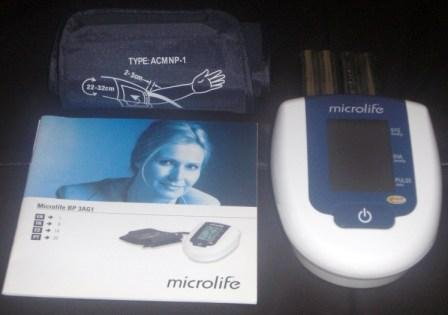 Amazon.com: Microlife Automatic Blood Pressure Monitor Bp 3ag1: Health & Personal Care