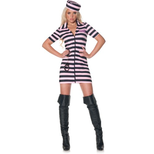 Underwraps Women's Miss Demeanor, Black/Pink, Medium -
