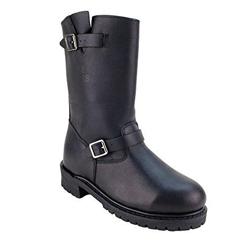 Steel Toe Engineer Boots Mens - 7