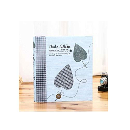 [해외]Qiaoxianpo01 앨범 삽입 대용량 전통적인 사진 앨범 입체 커버 선물 상자 최고의 추억을 유지 (대용량 200 성장 기록 앨범) / Qiaoxianpo01 Album Insert Large Capacity Traditional Photo Album Three-Dimensional Cover Gift Box to Keep Your Be...