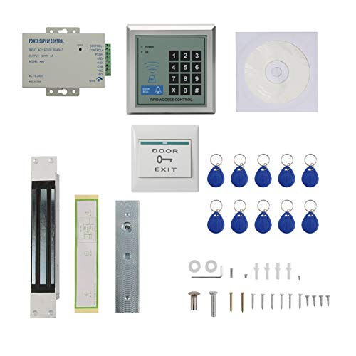 Universal Door Access Control System Compact 280KG Door Password System Durable MJPT015 Electric Door Lock ()