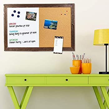 Amazon Com Board Dudes 18 Quot X 22 Quot Magnetic Dry Erase Cork