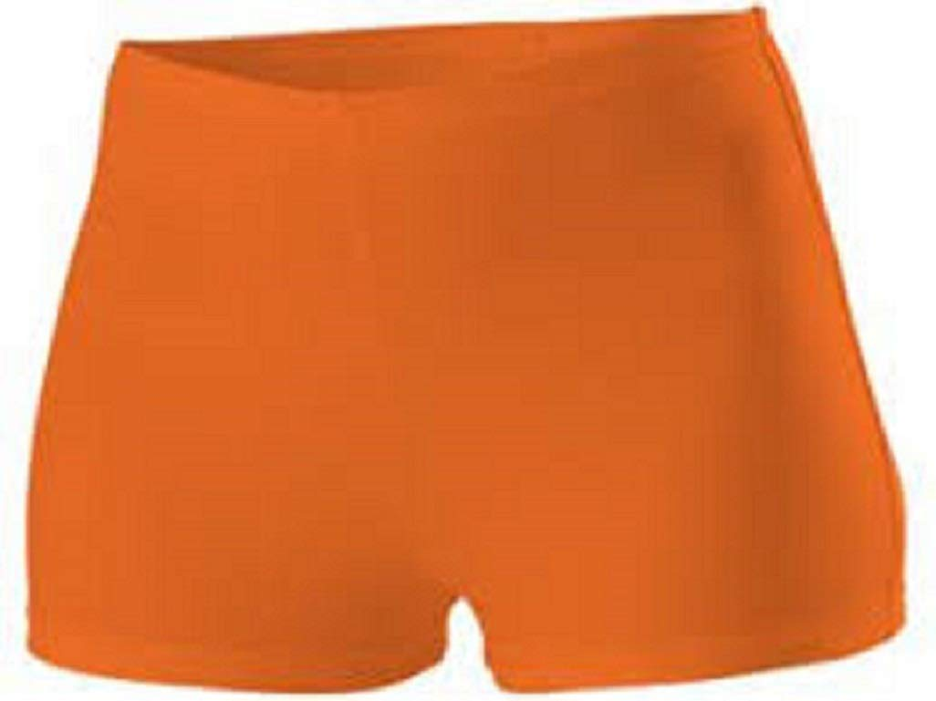 Alleson Cheer Boy Cut Brief, Orange, Youth X-Small by Alleson Athletic