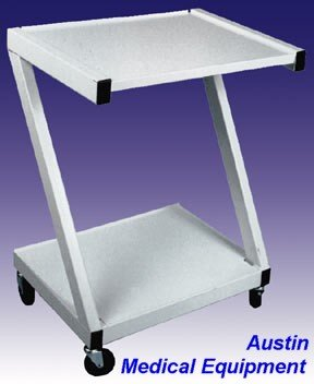 2 Shelf Steel New Speciality Cart from AME