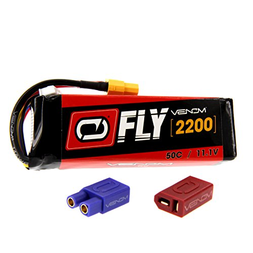 Great Planes Gee Bee - Great Planes Gee Bee R-1 50C 3S 2200mAh 11.1V LiPo Battery with UNI 2.0 Plug by Venom Compare to E-flite EFLB22003S50