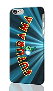 Futurama Pattern Image - Protective 3d Rough Case Cover - Hard Plastic 3D Case - For iPhone 6 Plus- 5.5