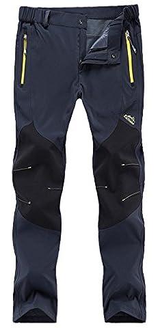 FunnySun Women's Outdoor Lightweight Quick Dry Slim Fit Hiking Mountain Pants,16606W Dark Grey XS (Womens Adventure Pants)