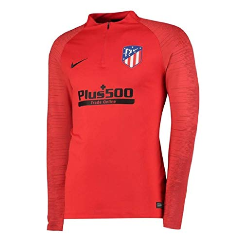 Real Madrid Training Top - Nike 2019-2020 Atletico Madrid Drill Training Top (Red)