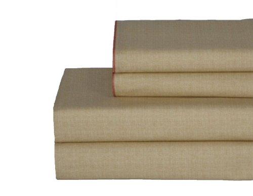 Sheet Catalina Set (Tommy Bahama Catalina 100-Percent Cotton Sheet Set, King)
