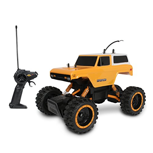 (Mean Machine 70 Ford Bronco Rock Crawler Vehicle)