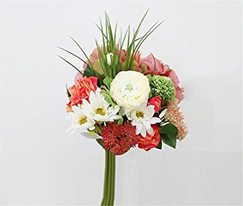 Modern Overall Floral Bouquets Artificial Flowers Emulation