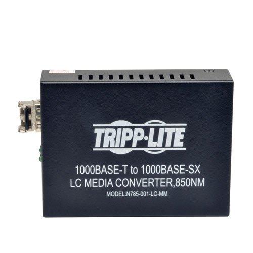 TRIPP LITE N785-001-LC-MM LC Multimode Fiber Media Converter Gigabit 10/100/1000 RJ45 by Tripp Lite