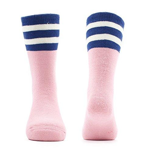 Big Girls Thick Cotton Socks Kids Winter Warm Crew Seamless Socks 5 Pack 8T/9T/10T by HowJoJo (Image #3)