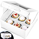 Pro-Quality Bakery Boxes for 6 Cupcakes with