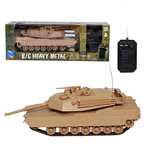 (RC Tank Heavy Metal M1A1 Abrams Remote Control Tank 1:32 Scale)