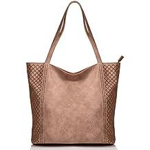 KISS GOLD(TM) Womens Top Handle Bags Hobo Shoulder Bags Shopping Handbags, European Style