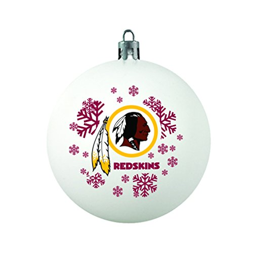 NFL Washington Redskins Shatterproof Ornament