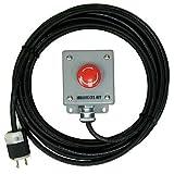 999840035103PB02 Palm Button Operator, 25' Cord, 2 Prong