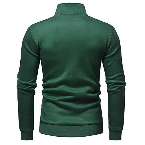 Libero Il Vari Tempo Verde Colletto Giacca Uomini Per Xinheo Casuale Più Dello Colori Dimensioni Stand nYHAqRpwxf