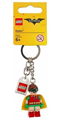 Batman Lego Movie Keychain - Robin - Lego Batman Keychain