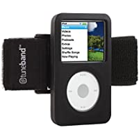 TuneBand for iPod classic (Model A1238, 80GB/120GB/160GB), Black, Grantwood Technologys Armband and Silicone Skin