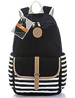 Leaper Thickened Canvas Laptop Bag Shoulder Daypack School Backpack Causal Handbag