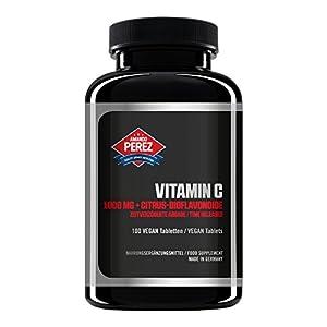 Vitamina C 1000 mg + Bioflavonoides - Liberado en el tiempo - 100 tabletas veganas 16
