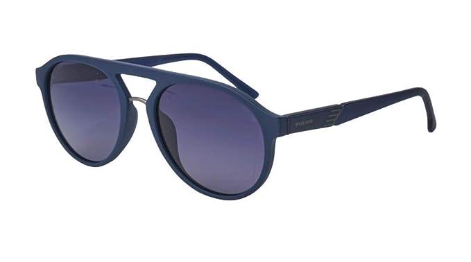 Amazon.com: Gafas de sol de policía Waka 2 (SPL-869 6QSP ...