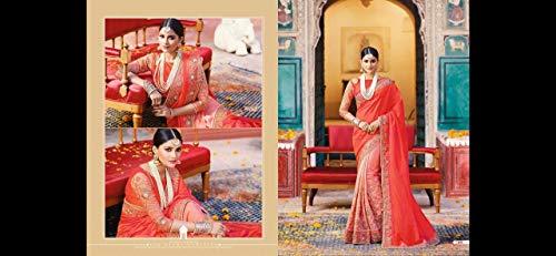 Le Progettista Tradizionali 100 Si 755 del Seta Etniche Ultime Original Bollywood Vestono Indiano Nuziali del Donne di Nozze BxYqwBr