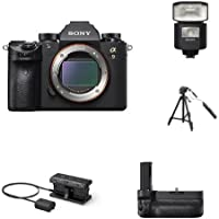 Sony a9 Full Frame Mirrorless Interchangeable-Lens Camera w/ Accessories