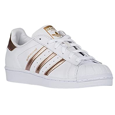 acf8401a795a Adidas Superstar Women White Rose Gold BB1428 UK 7.5  Amazon.co.uk  Shoes    Bags