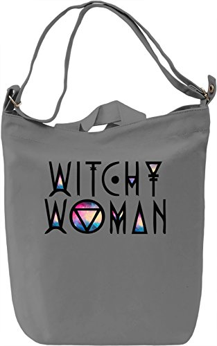 Witchy Woman Borsa Giornaliera Canvas Canvas Day Bag| 100% Premium Cotton Canvas| DTG Printing|