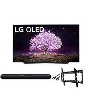 $2596 » LG OLED65C1PUB C1 65 inch OLED 4K Smart OLED TV w/AI ThinQ Bundle with Yamaha YAS109 Soundbar, Universal Wall Mount, HDMI Cable - LG Authorized Dealer