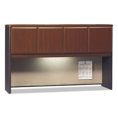 Bush Business Furniture Series A Collection 60W Hutch in Hansen Cherry Collection Desk Hutch