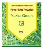Yuktha Green Organic Fever Nut Powder - Kalarchikai (Caesalpinia Bonducella) Powder - 250g