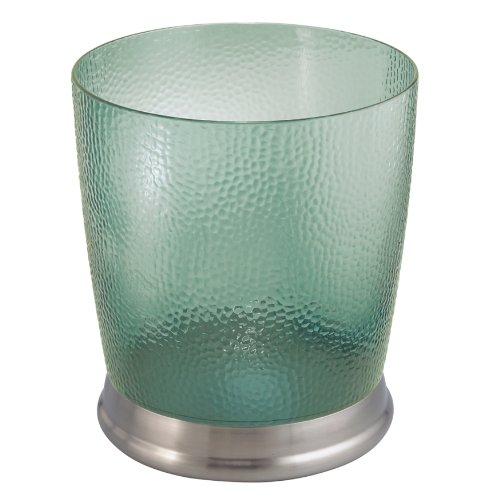 UPC 081492325512, InterDesign Rain Wastebasket, Green