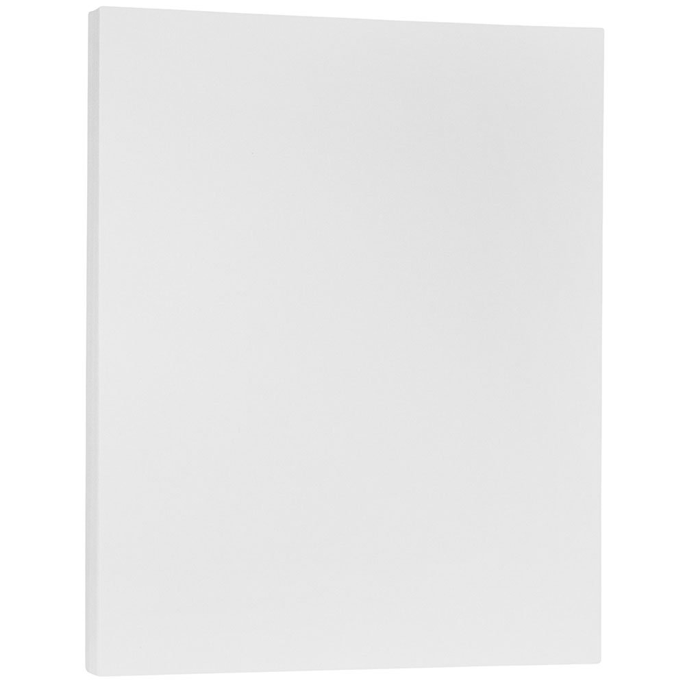 JAM Paper Translucent Vellum Paper - 8.5'' x 11'' - 17lb Clear - 100 Sheets/pack by JAM Paper (Image #1)