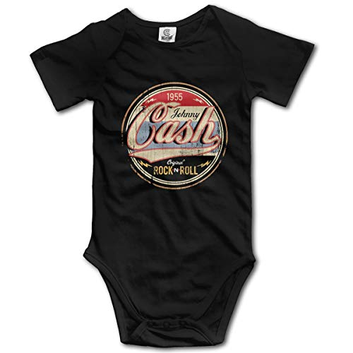 Johnny Cash Rock and Roll Breathable Black