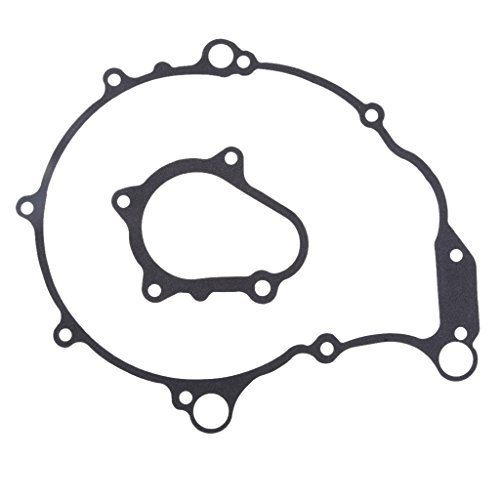 Flameer Motorcycle Left Crankcase Stator Gaskets for Yamaha Raptor 660 2001 2002 2003