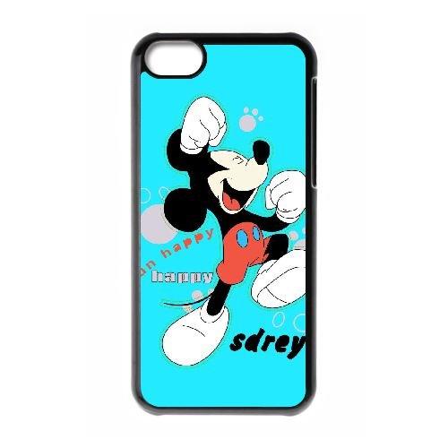 Mickey Mouse IH29TA7 cas d'coque iPhone de téléphone cellulaire 5c coque R1MM2J1QD