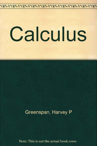 Calculus: An Introduction to Applied Mathematics