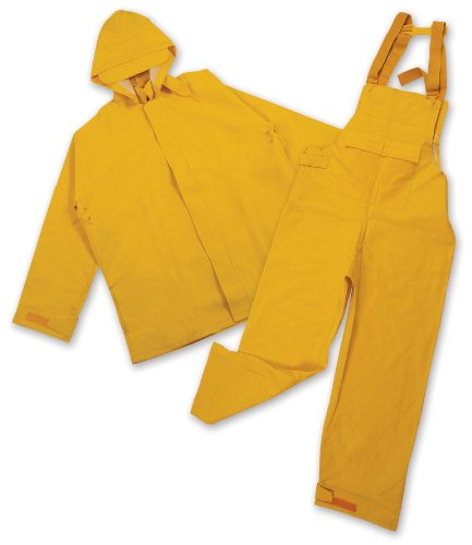 Stansport Commercial Rainsuit, Yellow, Large ()